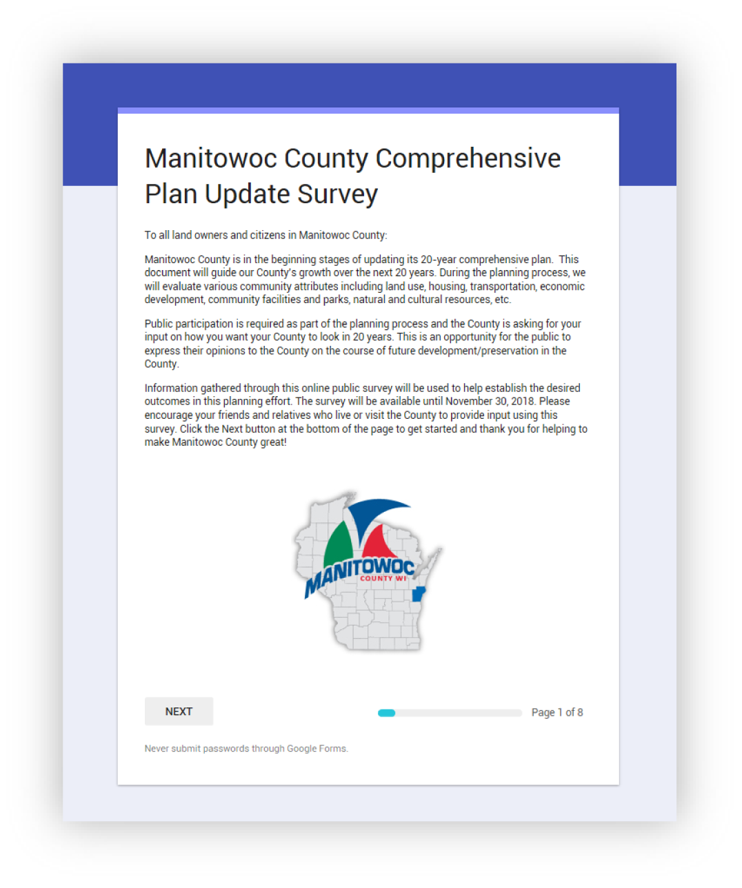 Manitowoc County Survey Icon.png